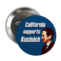 California supports Kucinich for President