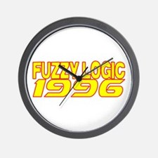 FUZZY LOGIC 1996 Wall Clock