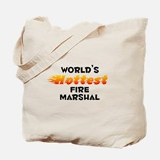 World's Hottest Fire .. (B) Tote Bag
