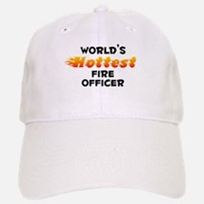World's Hottest Fire .. (B) Baseball Baseball Cap