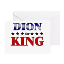 DION for king Greeting Card