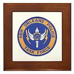 NOPD Task Force Framed Tile