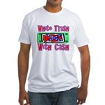 White Trash With Cash Fitted T-Shirt