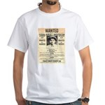 Baby Face Nelson White T-Shirt