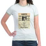 Baby Face Nelson Jr. Ringer T-Shirt