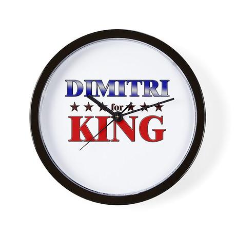 DIMITRI for king Wall Clock