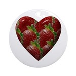 STRAWBERRY Ornament (Round)