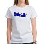 DETROIT FANCY LETTERING Women's T-Shirt