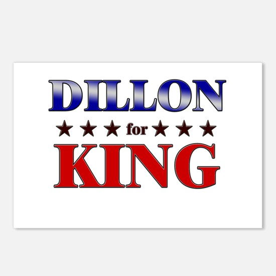 DILLON for king Postcards (Package of 8)