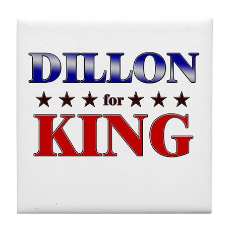DILLON for king Tile Coaster