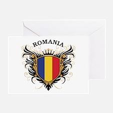 Romania Greeting Card