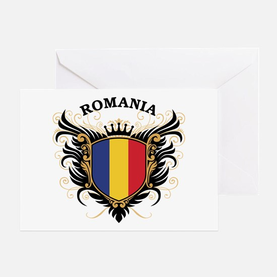 Romania Greeting Card