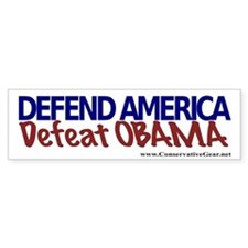 Defeat Obama Bumper Bumper Sticker