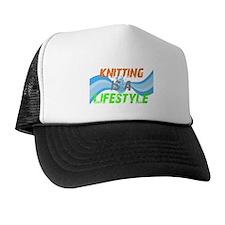 Cute Knitting expert Trucker Hat