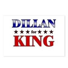 DILLAN for king Postcards (Package of 8)