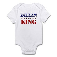 DILLAN for king Infant Bodysuit