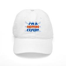 Cute Knitting expert Baseball Cap