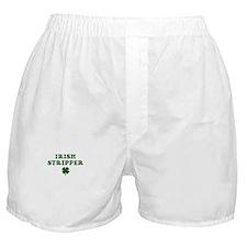 Irish Stripper Boxer Shorts