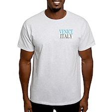 Venice Ash Grey T-Shirt