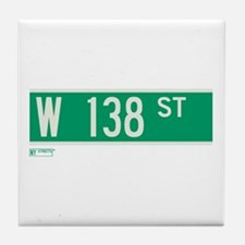 138th Street in NY Tile Coaster