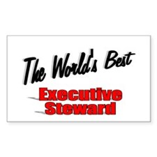 """The World's Best Executive Steward"" Decal"