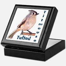 The Tufted Titmouse Keepsake Box