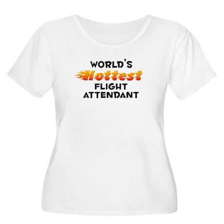 World's Hottest Fligh.. (B) Women's Plus Size Scoo