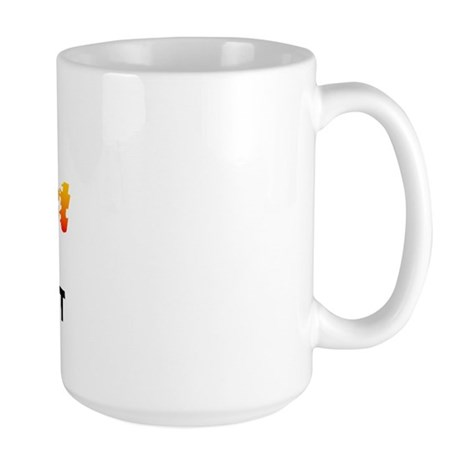 World's Hottest Fligh.. (B) Large Mug