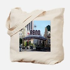 Reno Biggest Little City Tote Bag