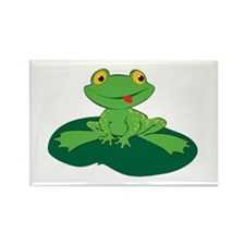 Froggy Rectangle Magnet
