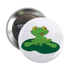 """Froggy 2.25"""" Button"""