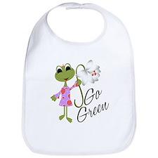 Go Green Frog Bib