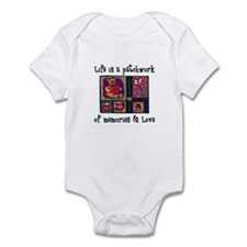 Life is A Patchwork - Quilt Infant Bodysuit