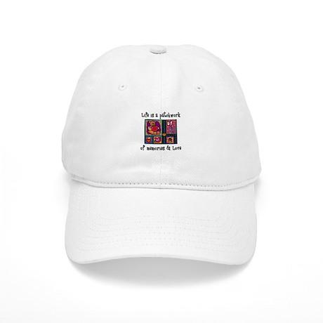 Life is A Patchwork - Quilt Cap