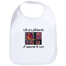 Life is A Patchwork - Quilt Bib