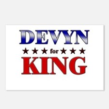 DEVYN for king Postcards (Package of 8)