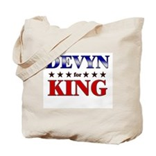 DEVYN for king Tote Bag