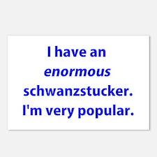 Schwanzstucker Postcards (Package of 8)