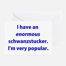 Schwanzstucker Greeting Cards (Pk of 20)