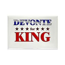 DEVONTE for king Rectangle Magnet
