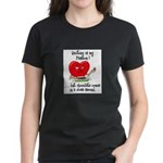Quilting and Chocolate Women's Dark T-Shirt
