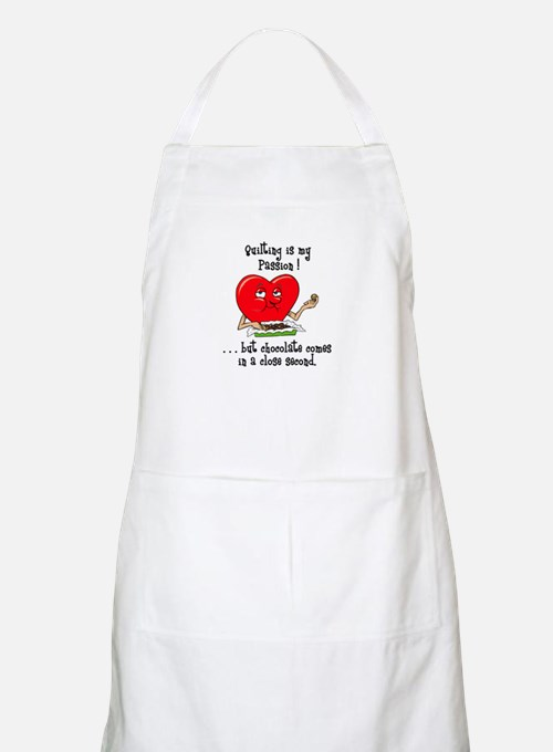 Quilting and Chocolate BBQ Apron