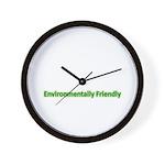 Environmentally Friendly Wall Clock