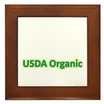 USDA Organic Framed Tile
