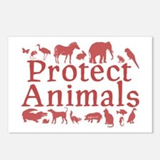 Protect Animals Postcards (Package of 8)