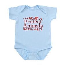 Protect Animals Onesie