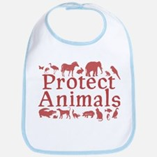 Protect Animals Bib