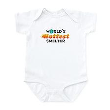 World's Hottest Smelter (C) Infant Bodysuit