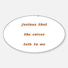 Voices Oval Decal