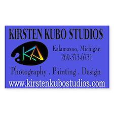 kk studios Rectangle Decal